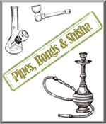 Pipes, Bongs & Shisha Smoking Accessories